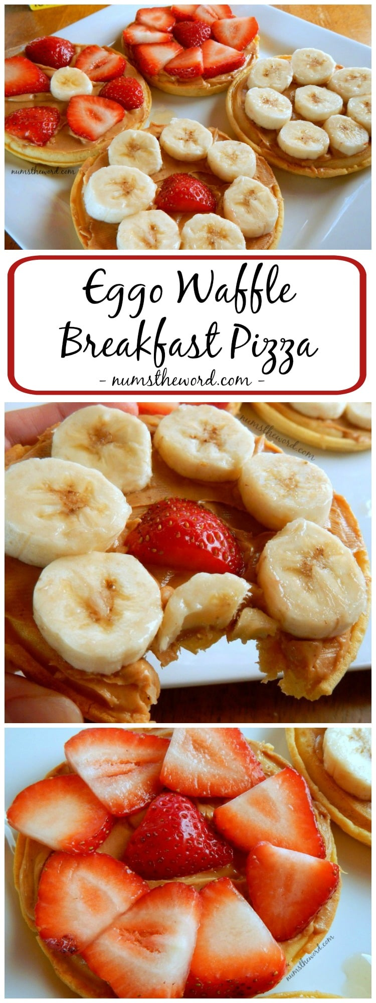 Eggo Waffle Breakfast Pizza
