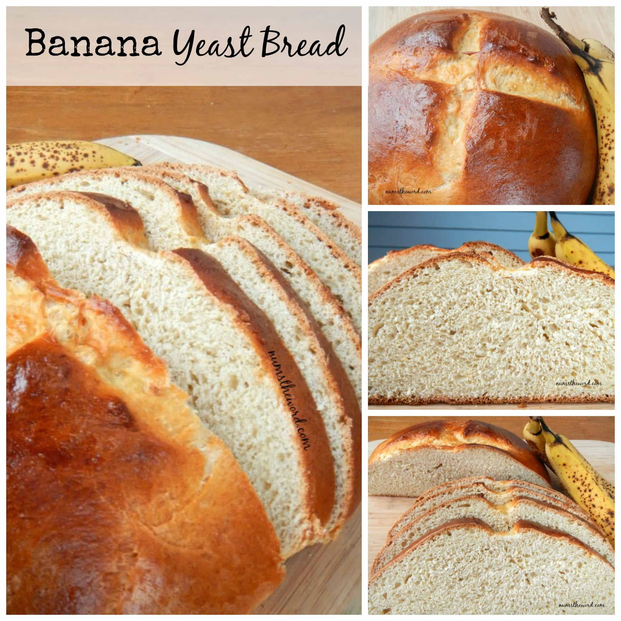 Banana Yeast Bread