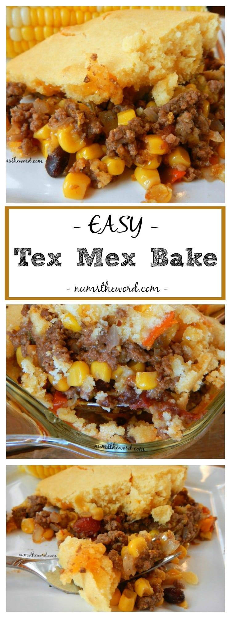 Easy Tex Mex Bake