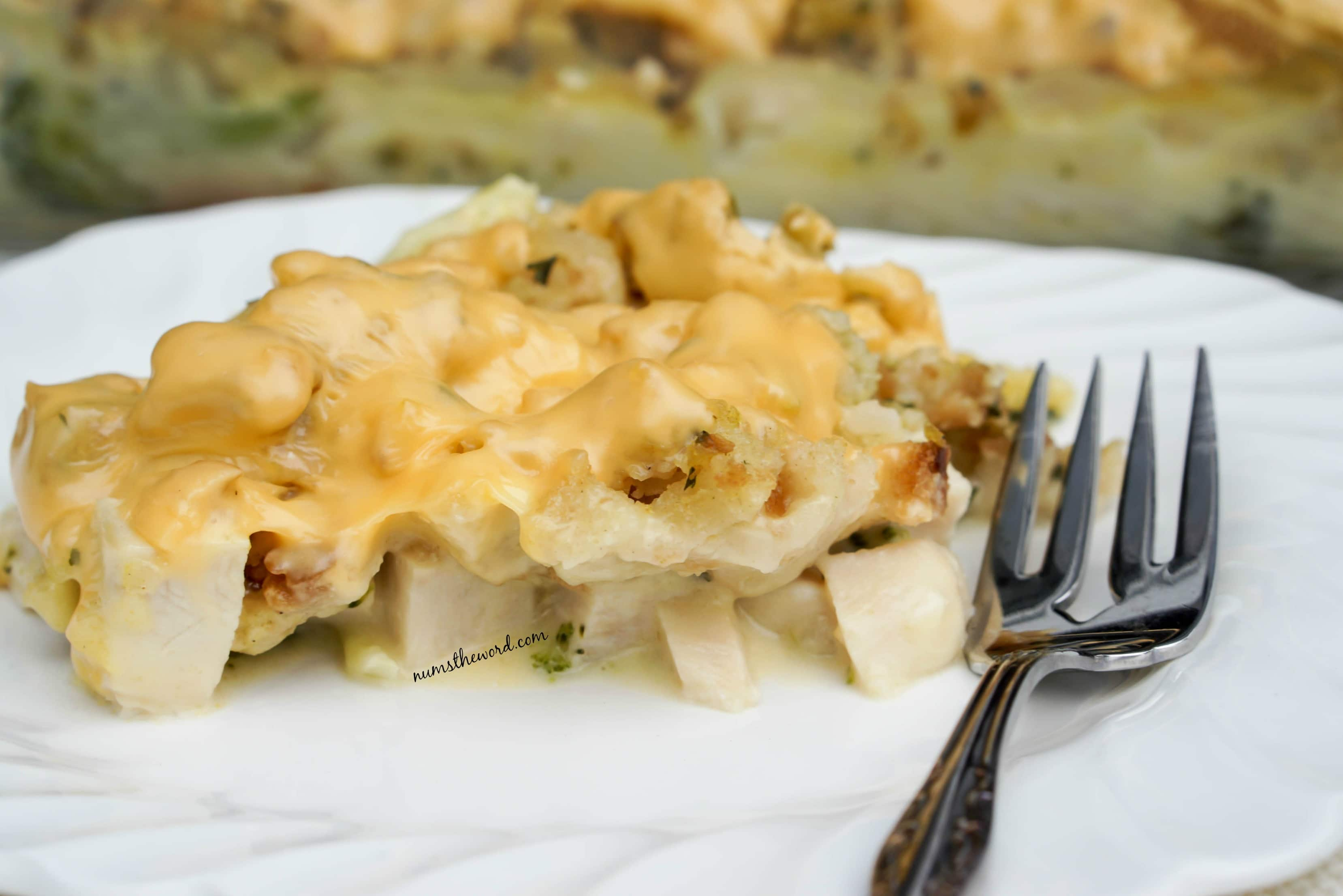 Turkey, Broccoli & Stuffing Casserole