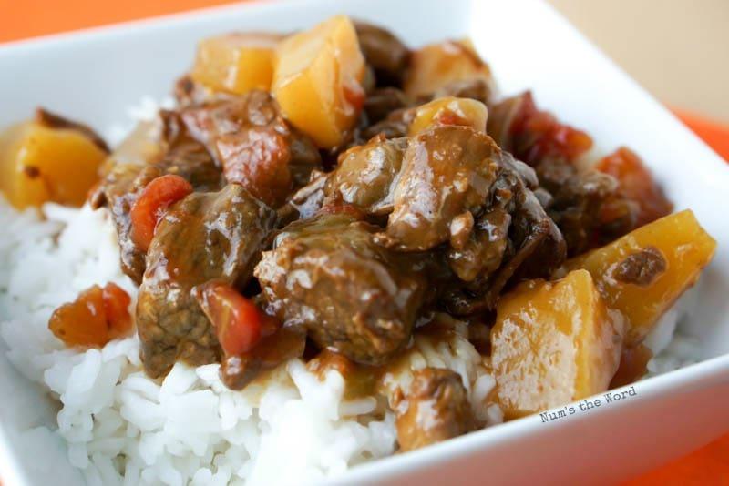 Crock Pot Polynesian Beef