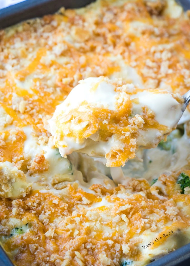 Chicken Broccoli Divan Casserole With Or Without Rice
