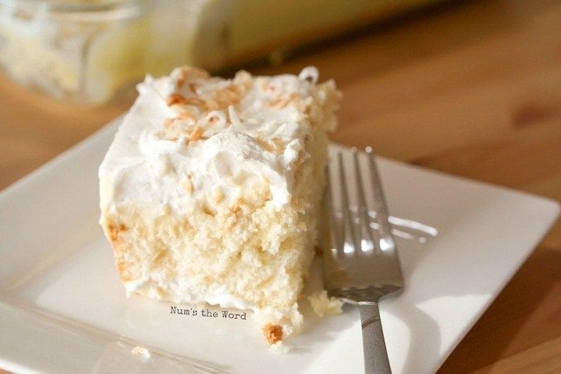 Coconut Cream Pie Poke Cake