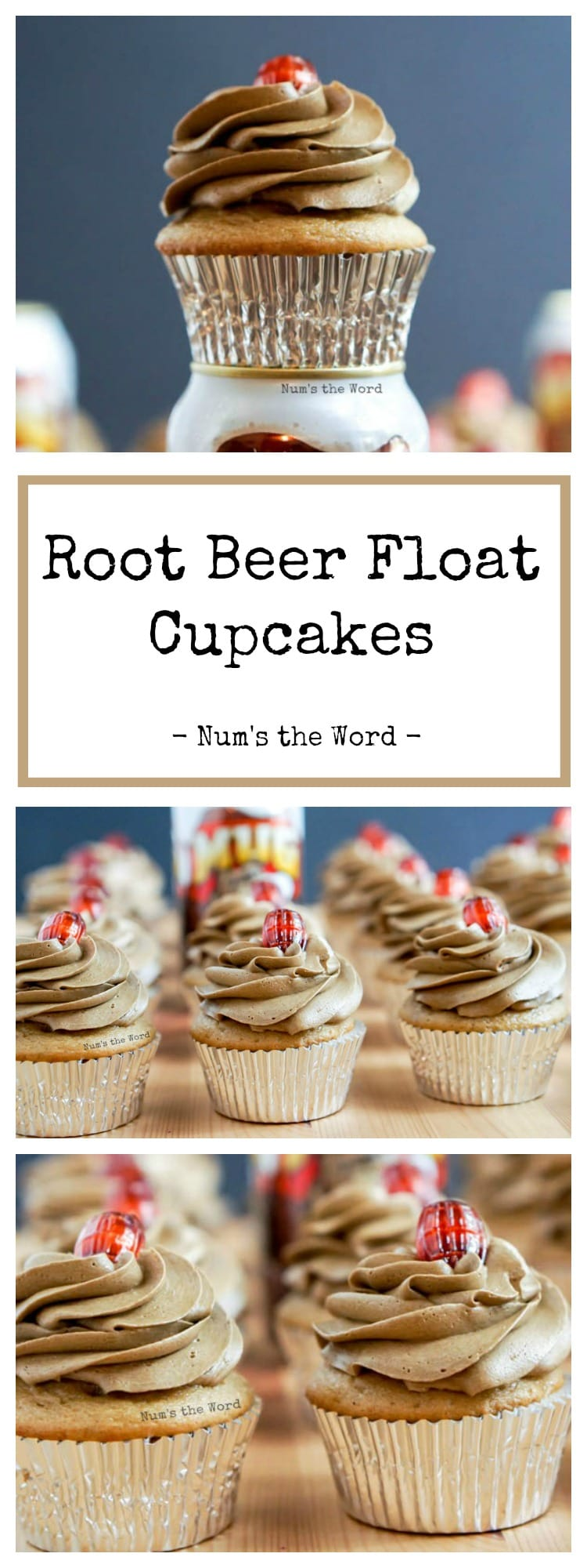 ROOT BEER FLOAT CUPCAKES RECIPE WITH ROOTBEER NUM S THE WORD