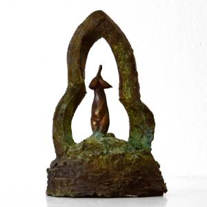 bronze sculpture by Shona Nunan