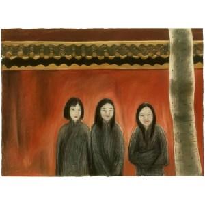 drawing by Shona Nunan