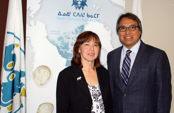 Photo: Inuit groups meet with UN rapporteur | Nunatsiaq News