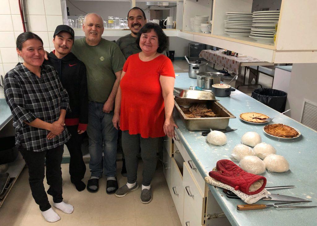 Soup kitchen in Kuujjuaq, Nunavik