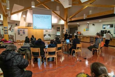 Clyde River Knowledge Atlas meeting in Nunavut