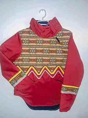 1510Karen Ivalu_st.jpg<br /> Karen Ivalu<br /> Iglulik<br /> A garment she made.