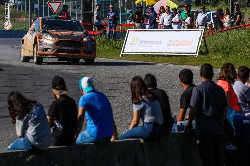 Miguel Correia estreia  Ford Fiesta R5 em asfalto