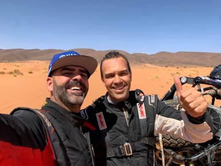 Excelente estreia da Franco Sport em Marrocos