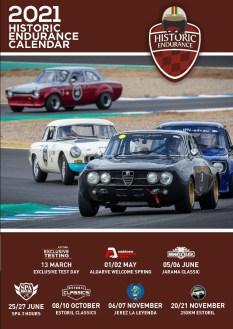 Apresentadoo calendário de 2021 do Iberian Historic Endurance