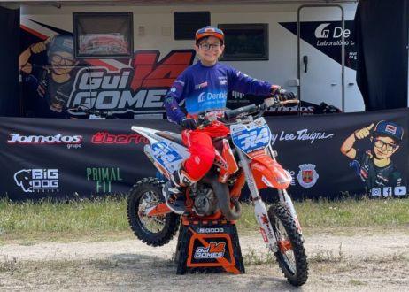 Gui Gomes presente no Campeonato Espanhol de Motocross