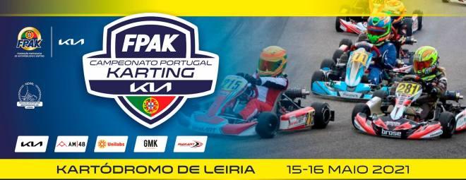 Campeonato de Portugal de Karting KIAcom 81 inscritos no próximo fim de semana em Leiria