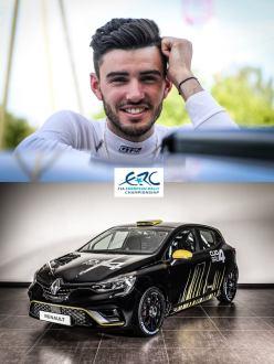 """ERC News: Franceschi piloto Renault no """"Europeu"""""""