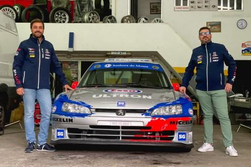 Sérgio Brás de Peugeot 306 Maxi no RallySpirit Altice 2021