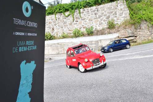 """""""Termas Centro Classic Cars"""" levou 43 carros clássicos a descobrirem encantos da Região Centro"""