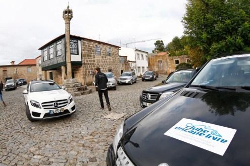 Ano Santo recebe Mercedes-Benz 4MATIC Experience