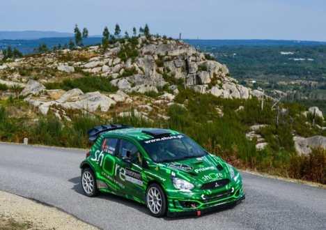Desempenho perfeito para trio  no Constálica Rallye Vouzela