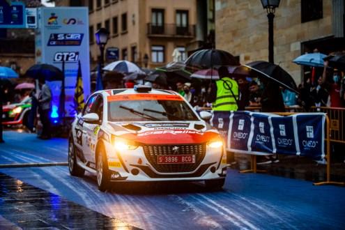 Hugo Lopes perto do Top5no RallyBlendio Princesa de Astúrias!