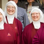 Sr. Mary Genevieve, Reverend Mother Marietta, Sr. Anunziata, and Sr. Rose Philomena