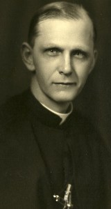 Father Gerald as a Holy Cross Priest in 1940.
