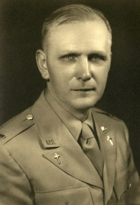 Lieutenant Fitzgerald, Chaplain, US Army WWII