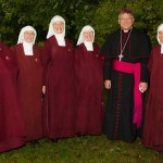 Bishop Stika and his Handmaids.