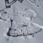 A Nun Snow Angel!