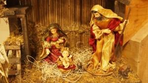 Nativity Scene in Cor Jesu Oratory