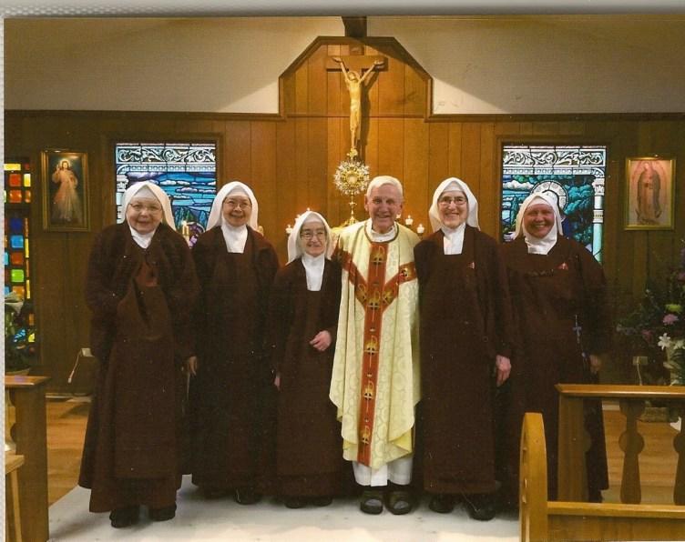 Our dear Chaplain, Father Don Dietz, OMI