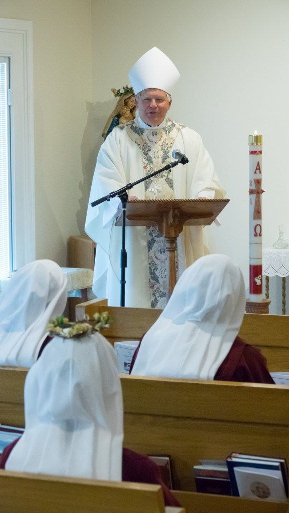 Bishop Stika's homily reflecting on the religious life