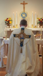 Benediction prior to the Mass of Religious Profession