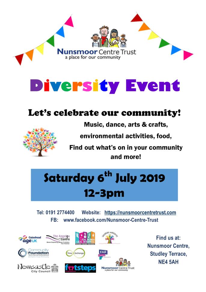 Poster Diversity Event 2019