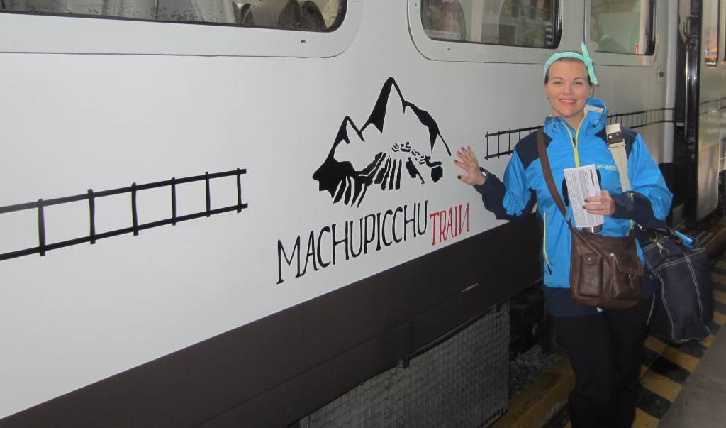 Train from Cusco to Aguas Calientes