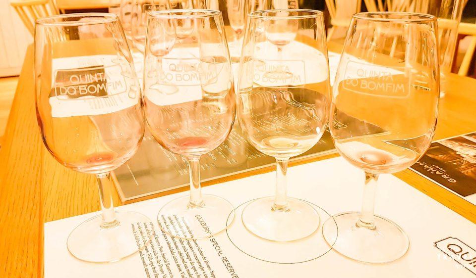 Degustação de vinhos na Quinta do Bomfim