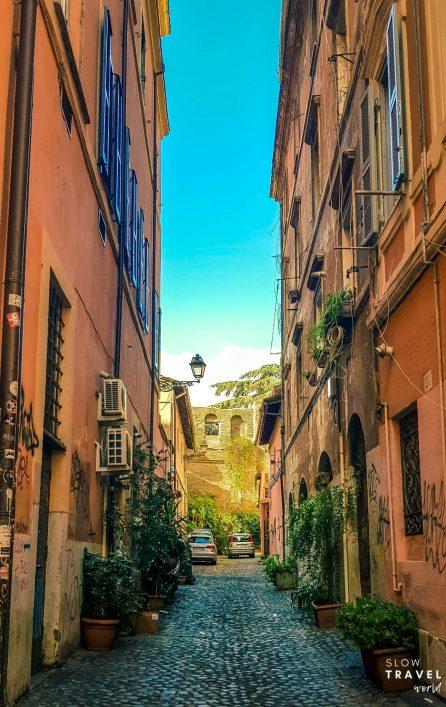 Bairro Trastevere | Roma | Viagem pela Itália