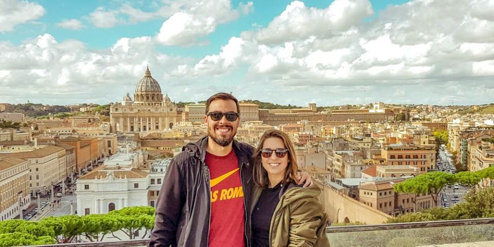 Vista Castelo Sant'Angelo |  Roma