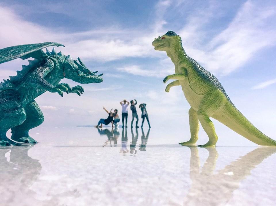 Salar de Uyuni | Ataque de Dinossauros