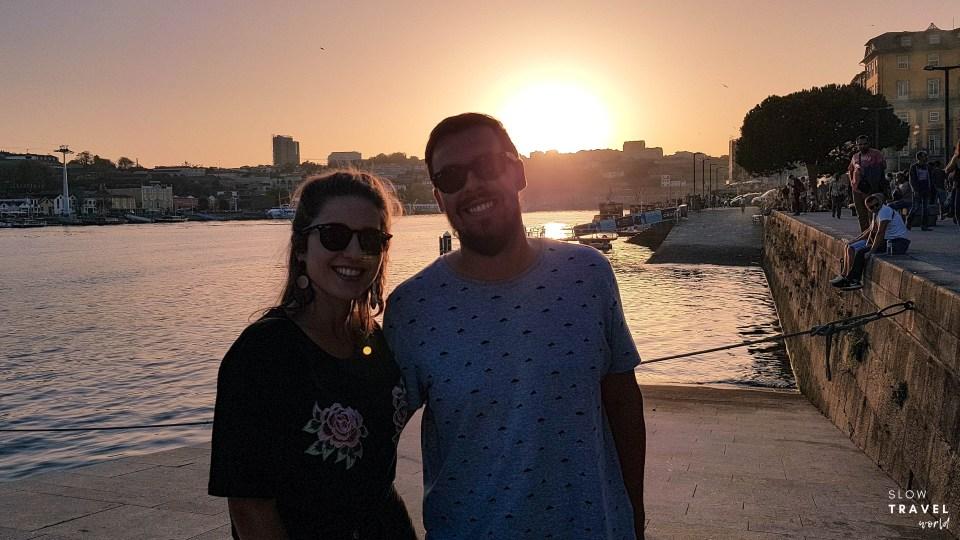 Pôr-do-sol // O que fazer no Porto