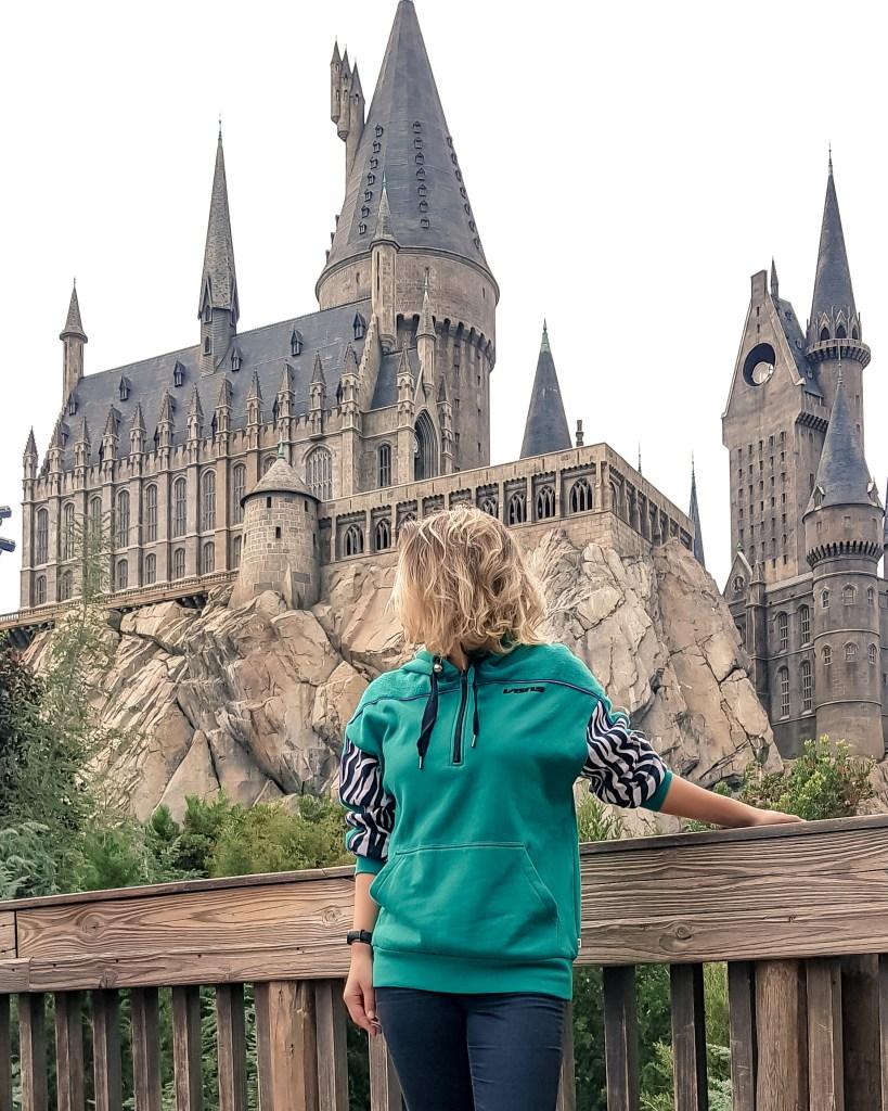 Parques da Universal em Orlando // Castelo de Hogwarts