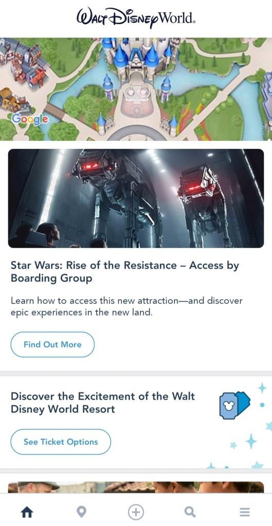 Parques da Disney // App