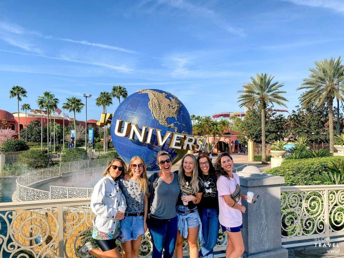 Parques da Universal em Orlando // foto da bola