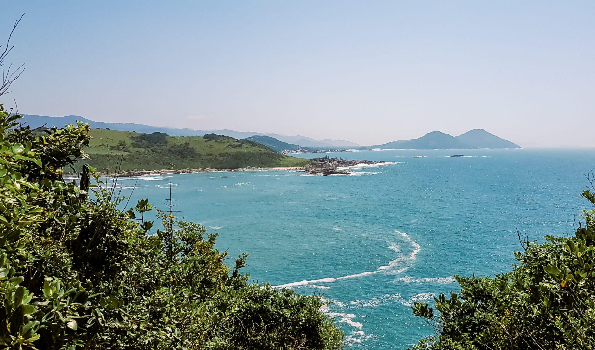 O que fazer na Praia do Rosa / Trilha para a Praia Vermelha