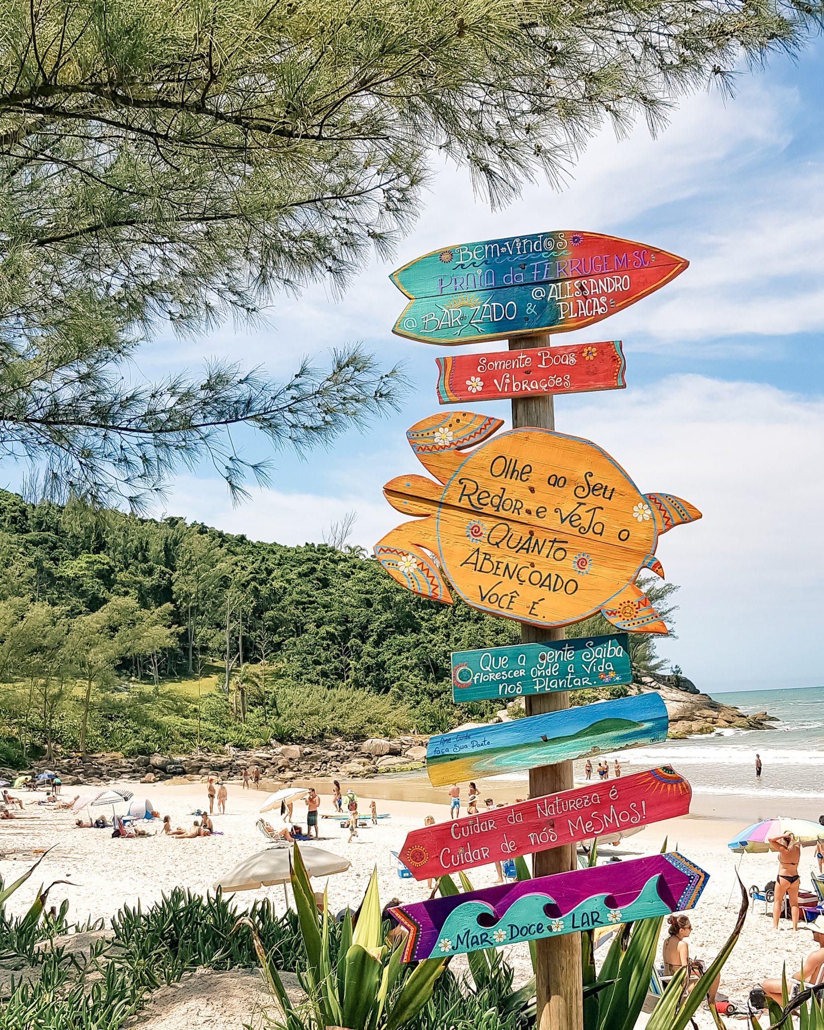 O que fazer na Praia do Rosa / Bar do Zado, Praia da Ferrugem