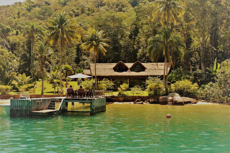 Turismo de Isolamento / Casa para grupos em Ilha Grande