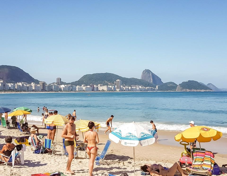 Roteiro Rio de Janeiro / Praia de Copacabana