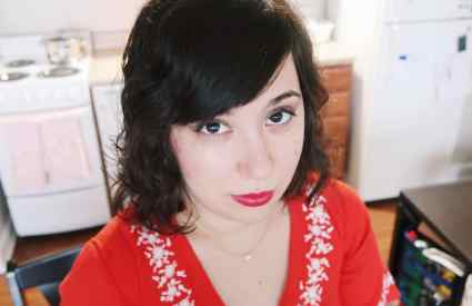 Amélie Inspired Makeup Look + Outfit of the Day