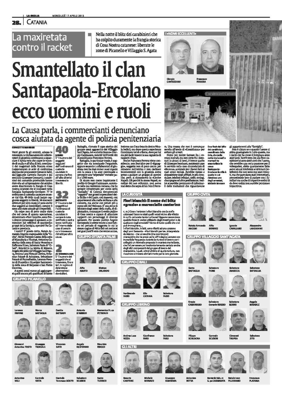 Operazione Fiori Bianchi 2.Aprile 2013 Nunzio Spano Da Bronte Pagina 3
